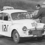 1959 RAC British Rally Pat Moss