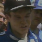 Al Unser Jr post race