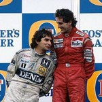 Piquet being a good sport