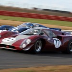 Justin Maeers Lola T70 number 77 makes it stick at Chapel