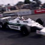 Carlos Reutemann, Williams. United States Grand Prix, Long Beach, 1981