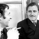 Innes Ireland and Graham Hill 1968