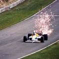 Nigel Mansell Williams Honda FW11 F1 1986