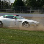 011  (6) Mardigras motorsport car of Smail and Reddy spins
