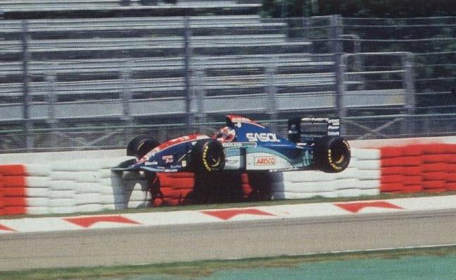 Rubens Barrichello Imola 1994