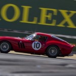 From 1962, a Ferrari GTO driven by Jon Shirley