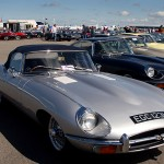 Jaguar E Types as far as the eye could see