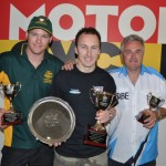 Top 3 Internatinal Challenge  Beau Beaton (2) Jeremy McWilliams (1) Robbie Phillis (3)