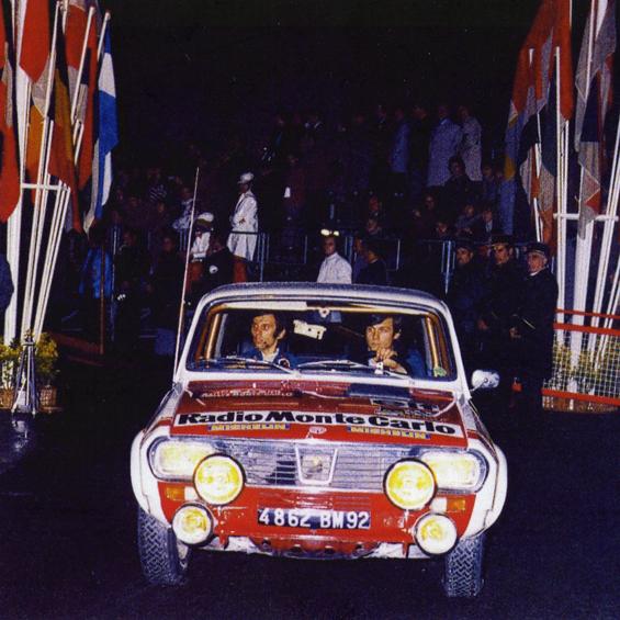Patrick Tambay 1973 Monte Carlo Rally