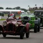 11085 Brooklands trophy early stages werner leads Burnett with Blakeney Edwards third