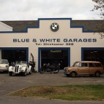 8094 blue and white garages