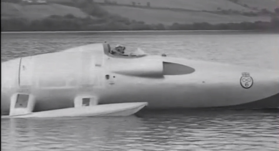 Fastest Jet In The World >> Video: John Cobb dies in Water Speed Record attempt, 1952 - Motorsport Retro