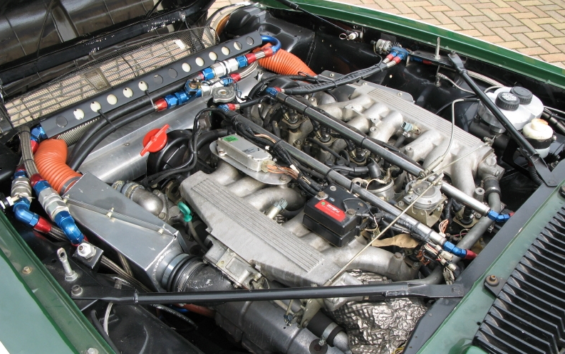 Jaguar XJS TWR Group A engine