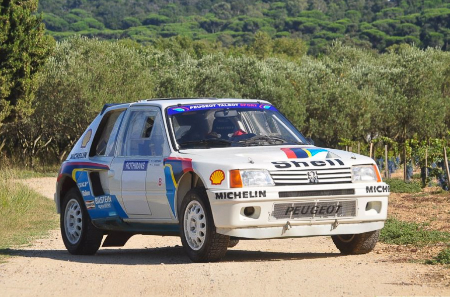 for sale: 1984 peugeot 205 turbo 16 evolution 1 group b - motorsport