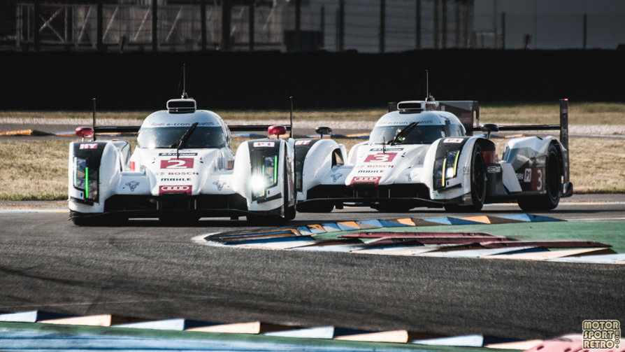 2014 24 Hours of Le Mans Racing Action-75