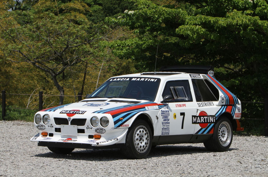 1985 lancia delta s4 group b up for auction