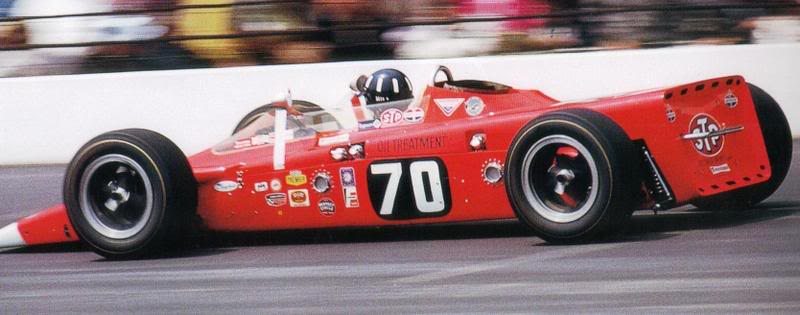 1968 Lotus Indy Turbine Car
