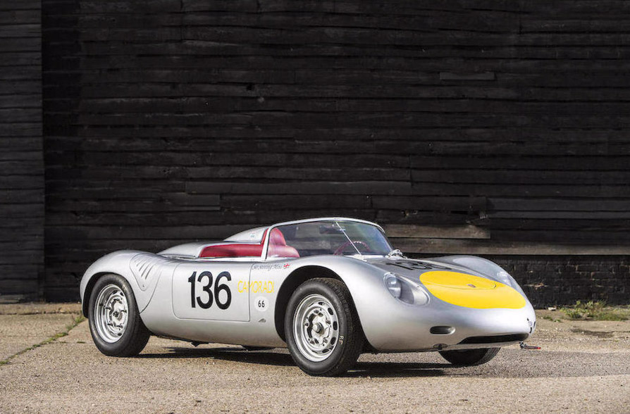 Stirling Moss 1961 Porsche RS61 Sports-Racing