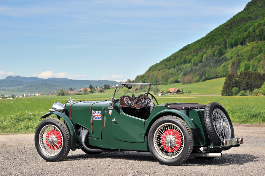 For Sale: 1934 MG PA/B Le Mans Team Car