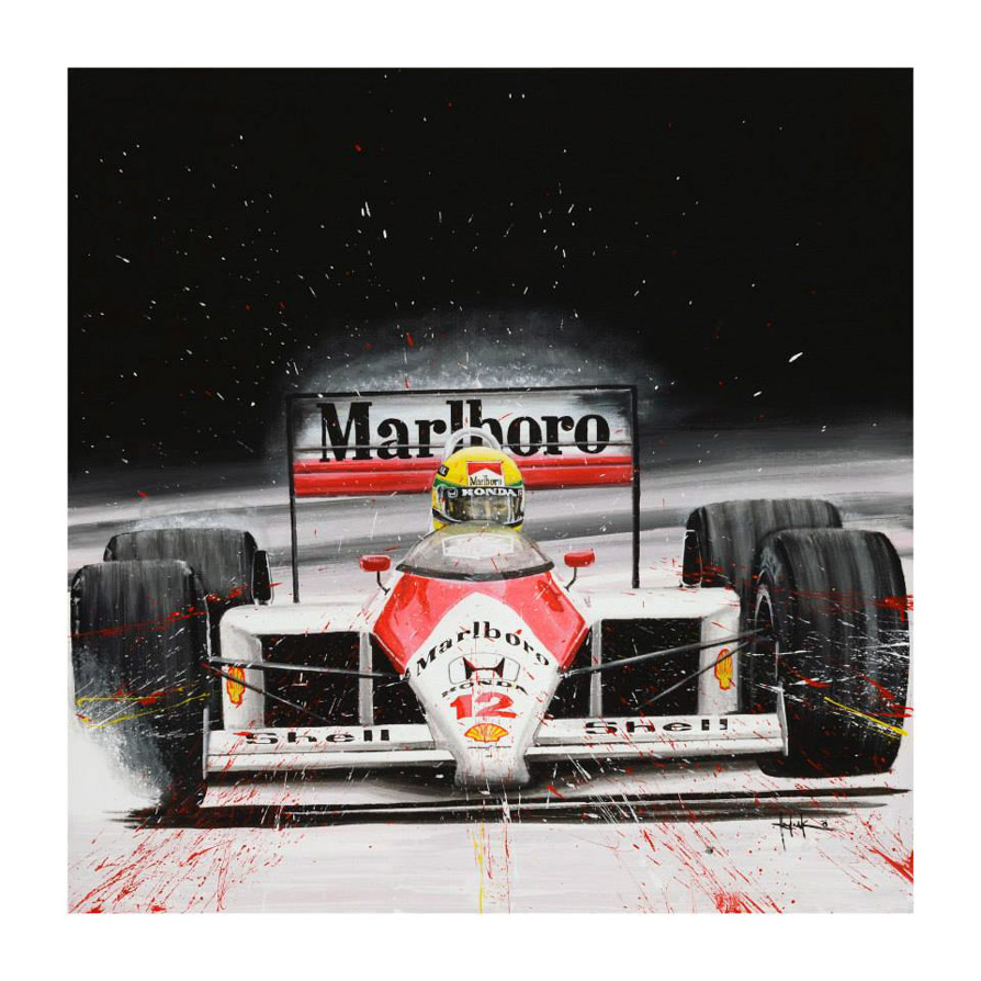 Tom Havalasek Retro Motorsport Art