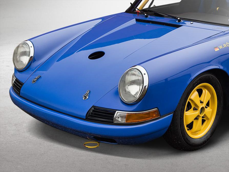 For Sale: Porsche 911 SWB Race Car Raced by Walter Röhrl