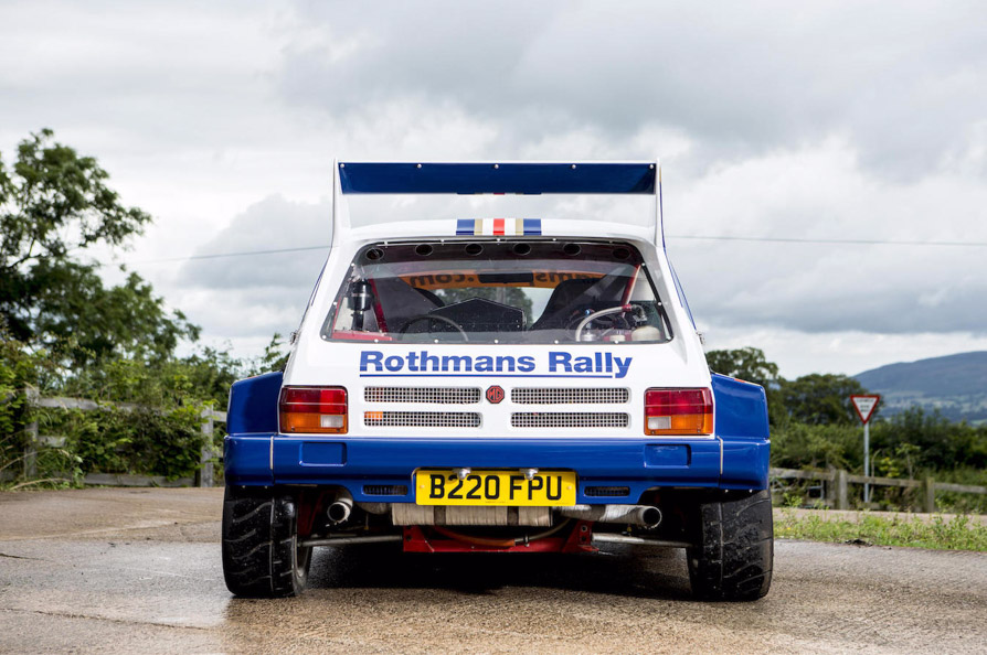 1985 MG Metro 6R4 Group B Rally Car