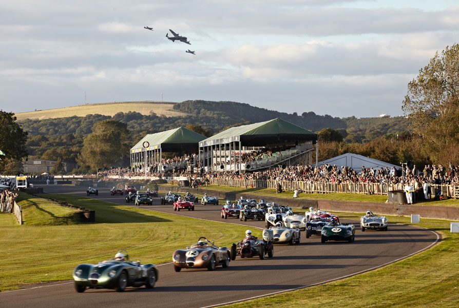 Stream the 2016 Goodwood Revival