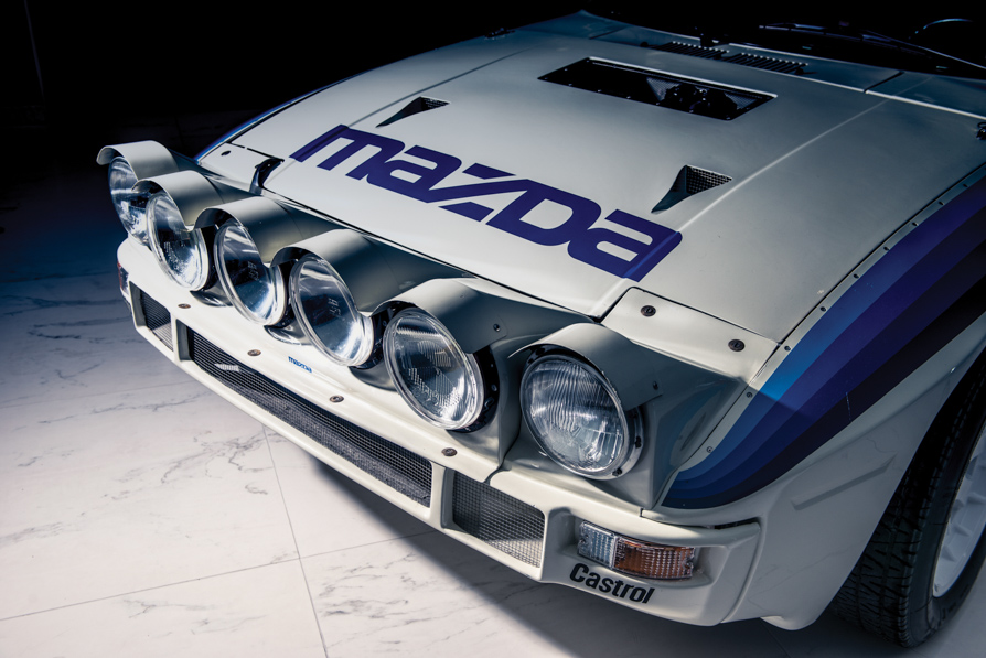 1985 Mazda RX-7 Evo Group B Works
