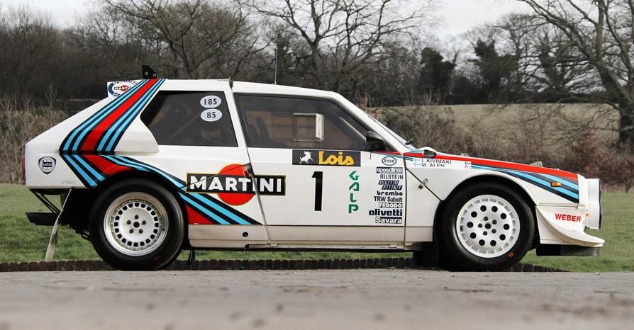 Works Martini Racing1985 Lancia Delta S4 Corsa Group B