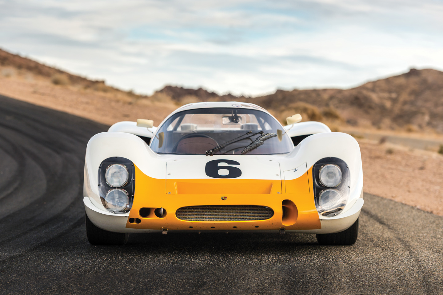 Works 1968 Porsche 908 Short-Tail Coupe