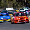 Heritage Touring Cars at Historic Queensland